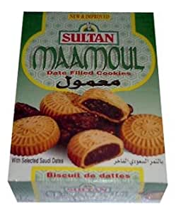 Maamoul, Date Filled Cookies, (Sultan) 12 pieces