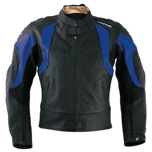 roleff racewear 82752 blouson moto cuir verona noir bleu. Black Bedroom Furniture Sets. Home Design Ideas