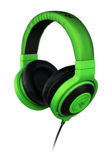 Razer Kraken Over Ear Headphones - Green