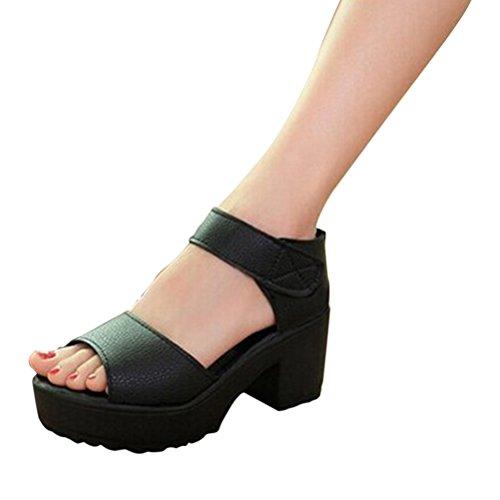 Great Deal(TM) Women's Casual High Heel Sandals PU