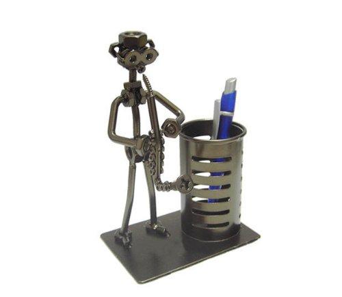 Pen/pencil Holder Saxophonist Pen Holder Desk Office Decoration