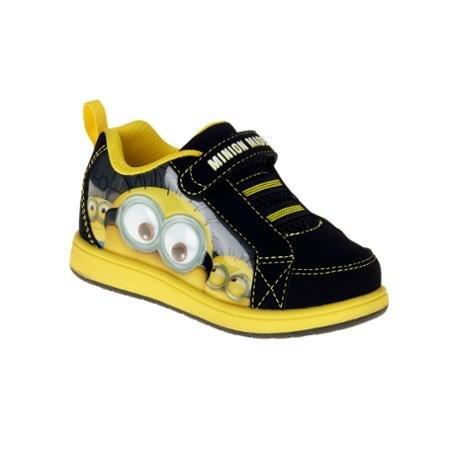 Despicable Me Minions Boys Velcro Athletic Shoes