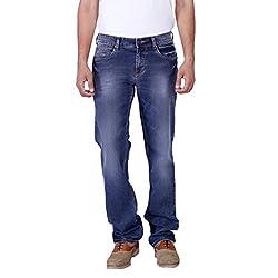 Provogue Men's Dan Regular Fit Jeans (8903522475573_104050-IN-131_32W x 33L_Indigo)
