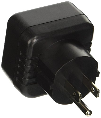 VCT Electronics VP13 Converts European/German Shucko plugs To USA Outlet Plug Adapter (German Plug Adapter compare prices)