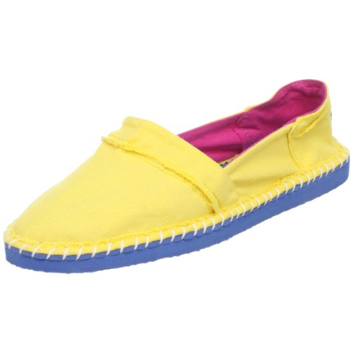 Rocket Dog Women's Bounce Flat,Lemon,8 M US