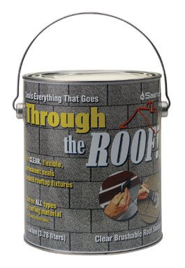 Sashco Through The Roof Sealant 1 Gallon Container Clear