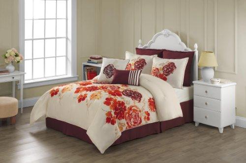 VCNY Savannah  Full Comforter Set, 8-Piece