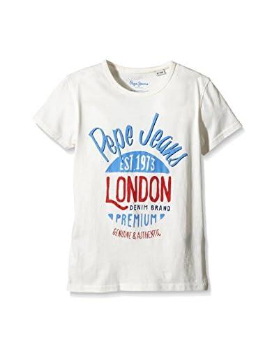 Pepe Jeans London T-Shirt Manica Corta Tirso [Bianco]