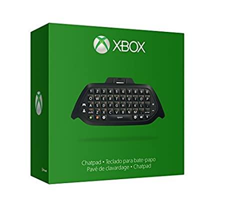 Xbox One Chatpad + Chat Headset (plugs directly into Chatpad)