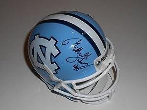 Mitch Trubisky Signed Mini Helmet w COA North Carolina Tar Heels Exact Proof -... by Sports+Memorabilia