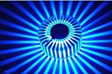 AC85~265V Saving Energy 3W Contemporary Led Wall Light with Scattering Light Design UFO Round Palisade Body Single Cold white/blue