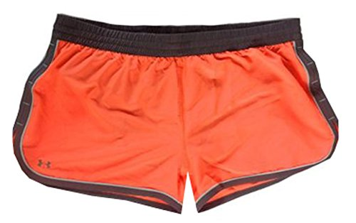 Under Armour Women Ua Great Escape Shorts Ii (L, Electric Tangerine/Grey)