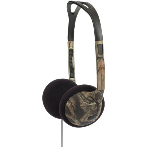 Koss Kmo 15G Over-The-Head On-Ear Mossy Oak Headphones (Green)