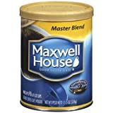 Maxwell House MASTER BLEND Mild Ground Coffee 326g pack of 1 (American)