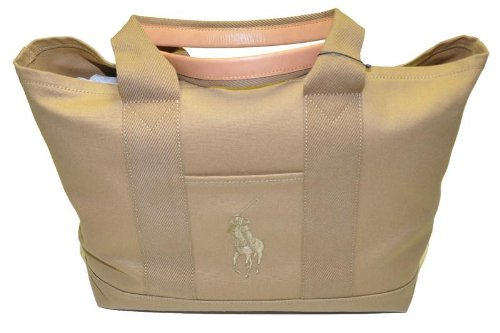 Ralph Lauren Big Pony Logo Large Tote Bag