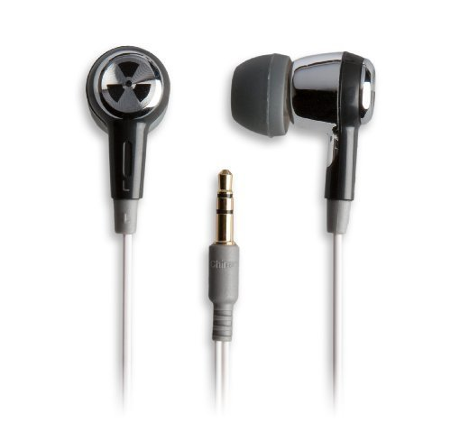 Earpollution Ozone Earbuds - Silver/Black (Ep-Ozone-Sb-09)