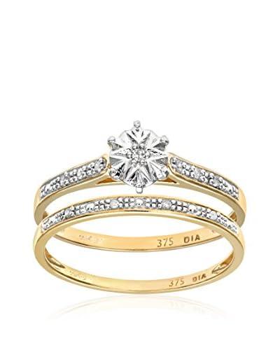 Revoni Set de anillos x 2