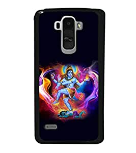 printtech Lord God Shiva Om Back Case Cover for LG G4 Stylus ,Versions: H631 (T-Mobile); MS631 (Metro PCS); H635 (EMEA); H540 (UAE); H630D (India); H542 (Mexico)