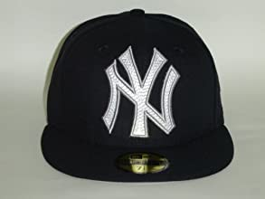 New Era MLB New York Yankees Mighty Stitch Fitted Cap 59Fifty