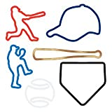 Silly Bandz Baseball Shapes (24) Pack