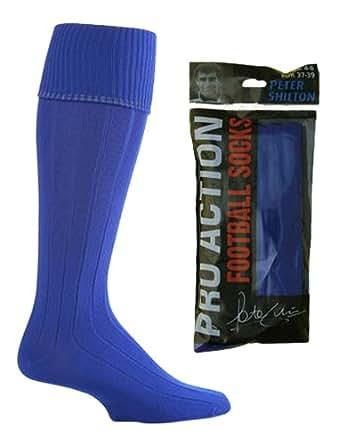 Uni-garçon fille pour homme football rugby hockey-chaussettes de sport - 5 coloris disponibles -  Bleu - Small