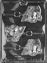 HAPPY TRAIN LOLLY Kids Candy Mold Chocolate