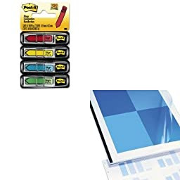 KITMMM684SHSWI9743070 - Value Kit - Swingline VeloBind Presentation Covers (SWI9743070) and Post-it Arrow Message 1/2amp;quot; Flags (MMM684SH)