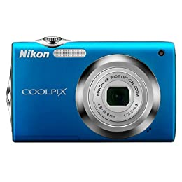 Product Image Nikon Coolpix 12.0MP Digital Camera - Blue (S3000)