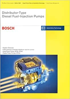 Distributor type diesel fuel injection pumps bosch technical pumps bosch technical instruction by robert bosch available in trade paperback on powells also read synopsis and reviews fandeluxe Image collections