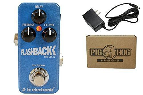 Tc Electronic Flashback Delay Mini Bundle - 1 Item: Pig Hog 9V Power Adapter
