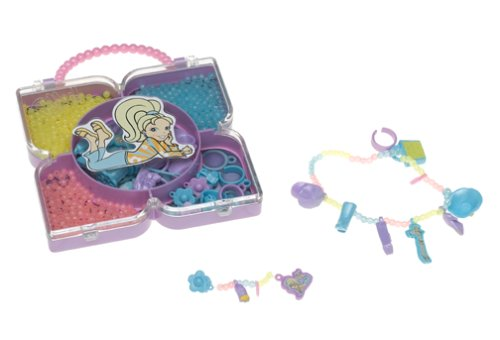 Polly Pocket Totally Bead-iful Jewelry Kit Playset Rings n' Things - 1