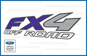 Ford F150 FX4 OffRoad Decals Truck Stickers PURPLE (1997 - 2008) - FPUR