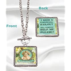 Vintage Style Charm Chain Necklace - Miss Helpless