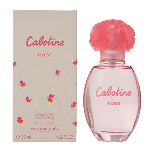 Parfums Gres, Eau de Toilette Spray da Donna, Cabotine Rose, 50 ml