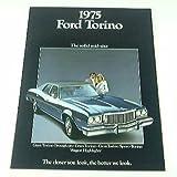 1975 75 Ford TORINO BROCHURE Brougham Gran Hardtop