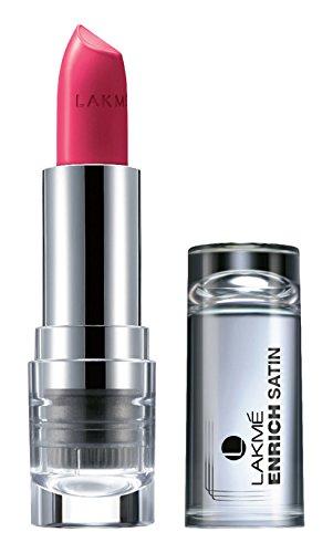 Lakme Enrich Satins Lip Color, Shade P167, 4.3 g