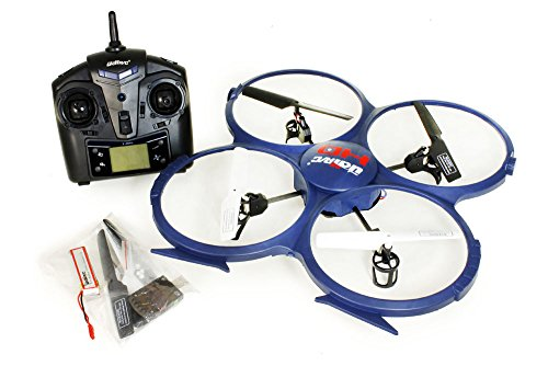 Tenergy UDI UPDATED Discovery U818A-1 2.4Ghz 4CH 6 Axis Gyro...