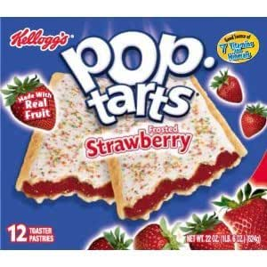 Kelloggs Pop Tarts Frosted Strawberry | Car Interior Design
