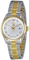 TAG Heuer Womens WV1450.BD0797 Carrera Mother of Pearl Dial Watch