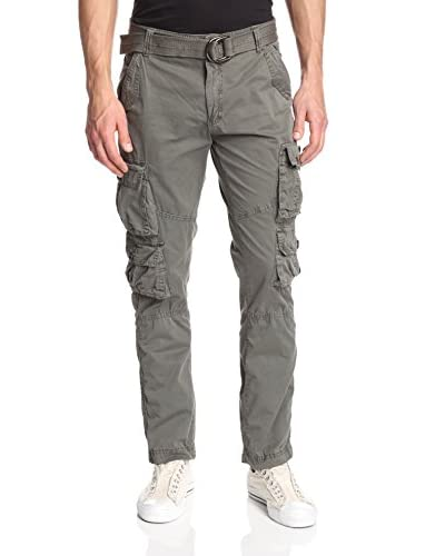 X-Ray Men's Belted Cargo Pant