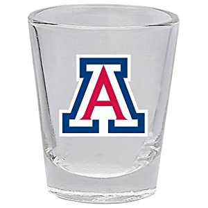 Buy Arizona Wildcats 2 oz Collector Shot Glass - Clear by Unknown