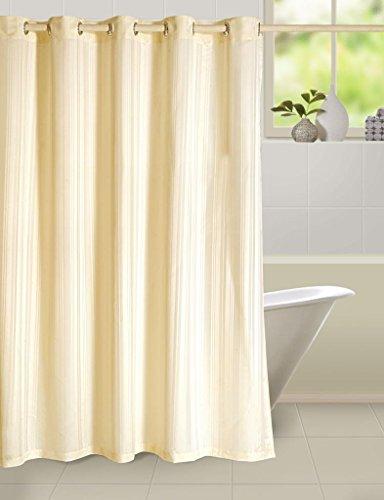 Swayam Curtain Concept Plain Polyester Premium Shower Curtain – 72″x80″, Multicolor (CHW-5600)