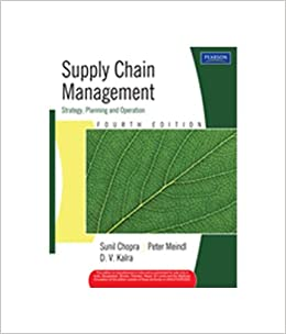 Supply Chain Management Strategy Planning and Operation