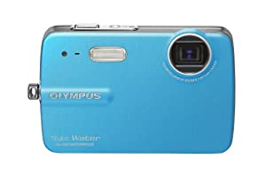 Olympus Stylus 550 WP 10MP Waterproof Digital Camera with 3x Optical Zoom and 2.5-Inch LCD (Blue)