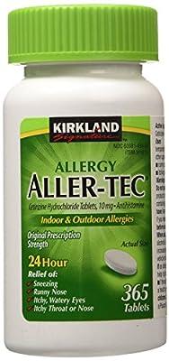 Kirkland Signature, Aller-Tec Cetirizine Hydrochloride Tablets
