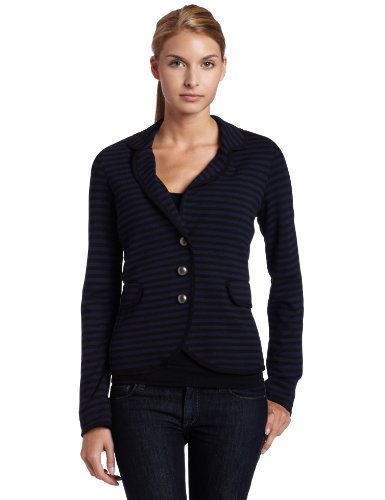 Ella moss Womens Pierre Stripe Blazer