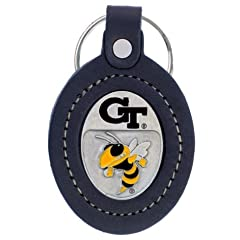 Buy Large College Large Key Chain - Georgia Tech Yellow Jackets by Siski