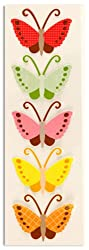 Martha Stewart Crafts Butterfly Pattern Stickers By The Package