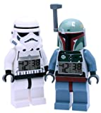 LEGO® Star Wars Stormtrooper and Boba Fett clock bundle