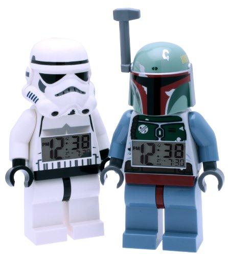 LEGO® Star Wars Stormtrooper und Boba Fett Wecker